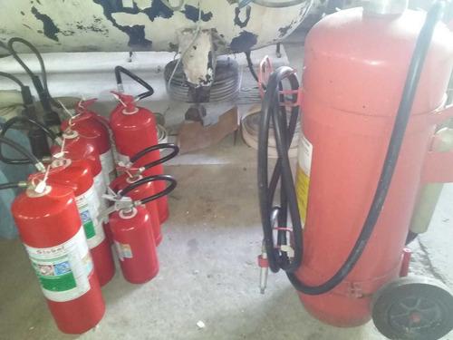 manutenção e recarga em extintores