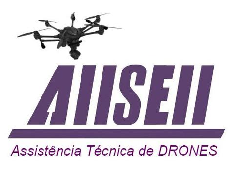 manutenção e reparo drones hubsan, yunneec, xiaomi e outros