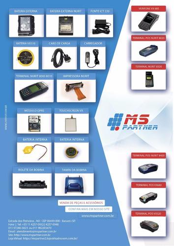 manutenção e venda pos verifone e nurit vx 680/520/685/520