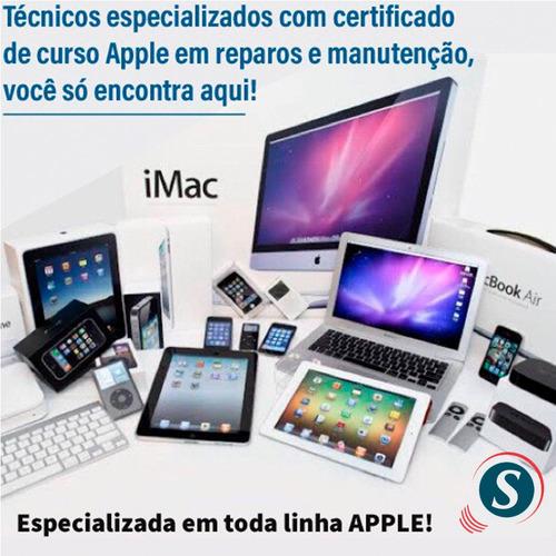 manutenção em apple e notebooks de todas as marcas!