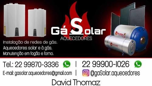 manutenção em aquecedores a gás & fogões