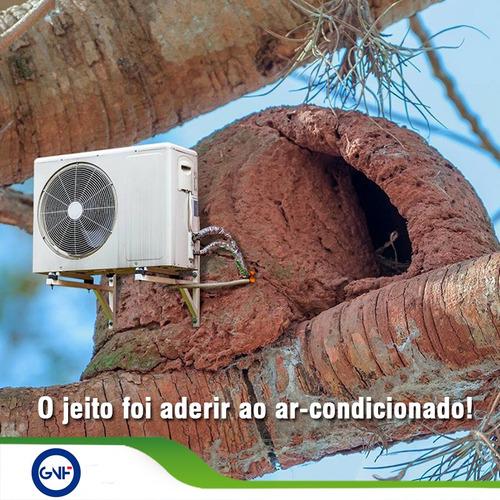 manutenção em ar condicionado em empresa e condomínio