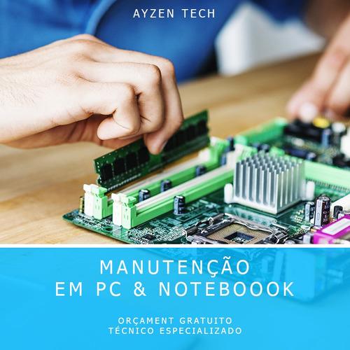 manutenção em desktops e notebooks
