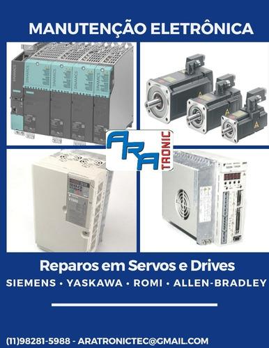 manutenção em eletrônica industrial e cnc
