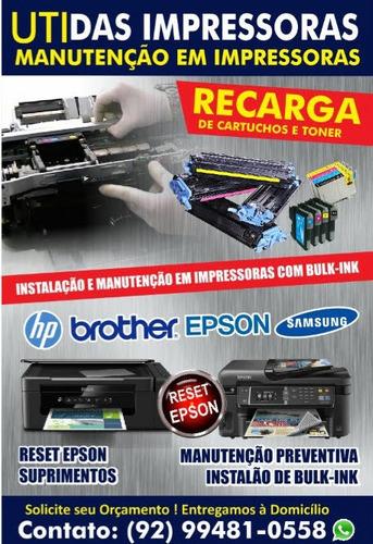 manutenção em impressoras em geral