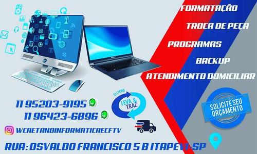 manutenção em informática e cftv