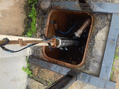 manutenção em poços tubulares - vídeo inspesão (filmagem)