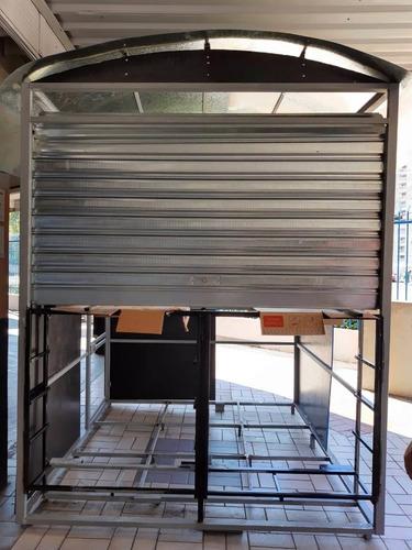 manutenção em portas  de   aço (porta de enrolar)