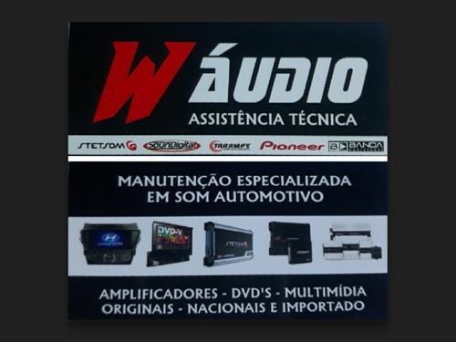 manutenção especializada em som automotivo em geral