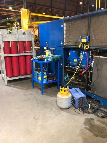 manutenção especializada refrigeração de corte a laser