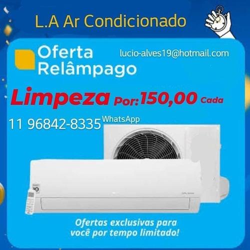 manutenção  higienização e instalação de ar condicionado