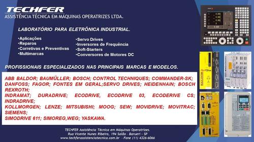 manutenção industrial. cnc