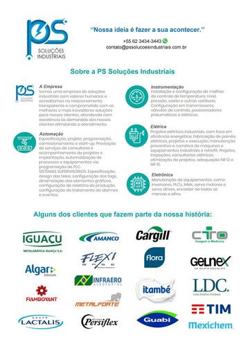manutenção industrial e criação de projetos
