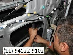 manutenção maquina de vidros de blindados