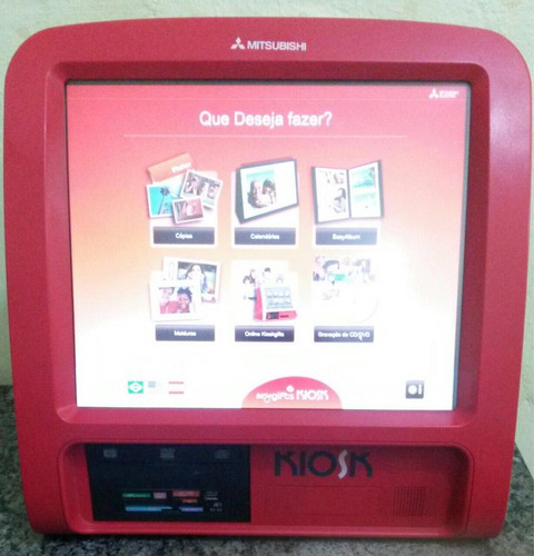 manutenção mitsubishi kiosk e impressora