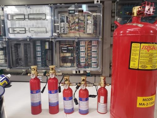 manutenção sea fire extintor automático recarga seafire bsco