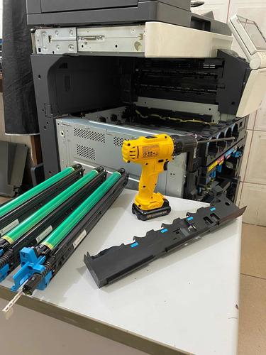 manutenção toner de konica minolta suporte gratuito