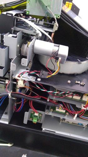 manutenção  troca d peças máquinas roland lef 300 , 200 e 20