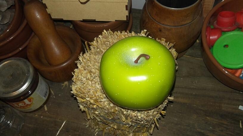 Hermosa Estera De La Cocina Manzana Verde Colección - Ideas para ...