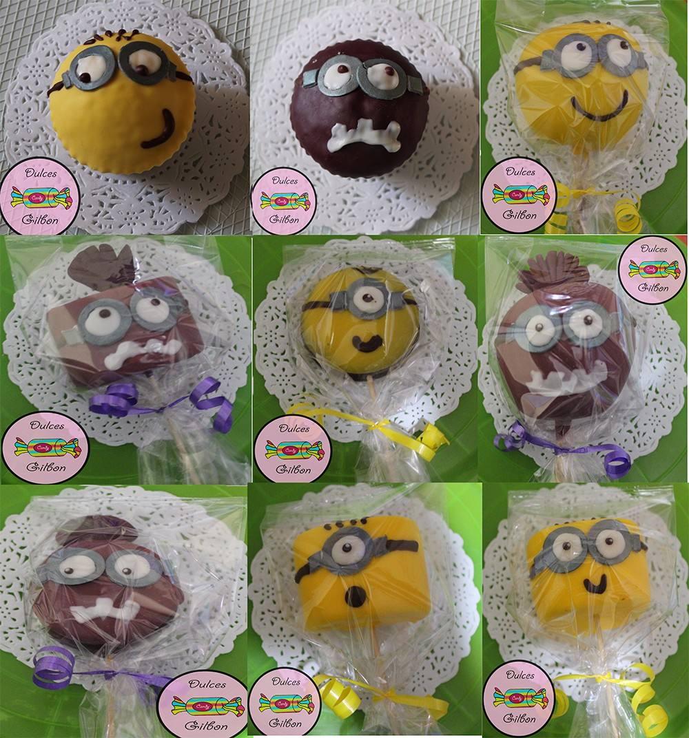 Manzanas Mamuts Bombones Cupcakes Decorados Para Fiestas 600 En - Decorados-para-fiestas