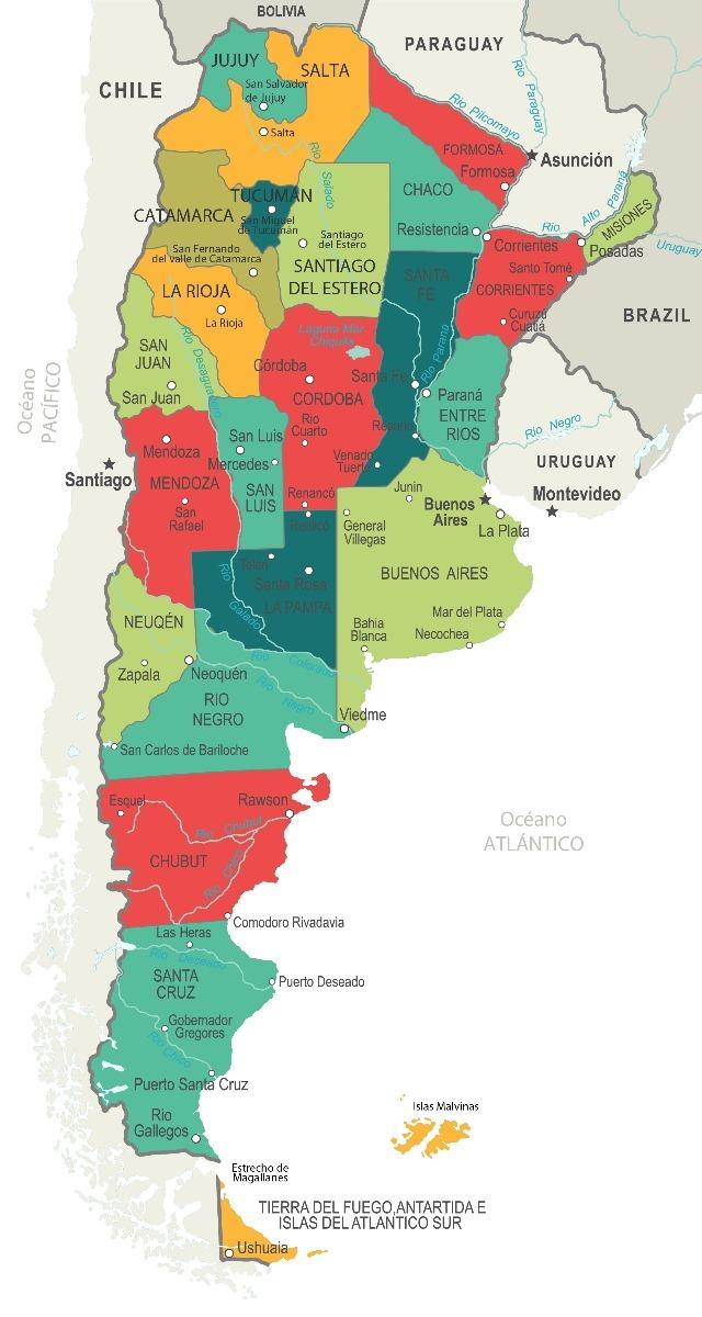 mapa argentina Mapa Argentina   150x80 Mapachap   Mapa De Chapa   $ 2.000,00 en  mapa argentina