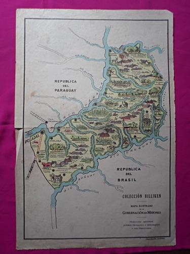 mapa billiken gobernacion de misiones