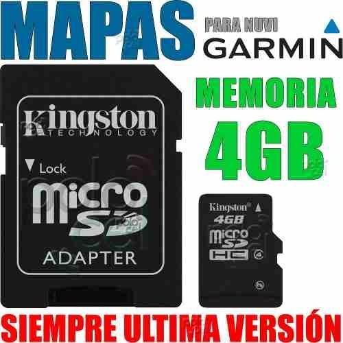 mapa brasil 2017 tarjeta memoria 4gb incluida gps garmin