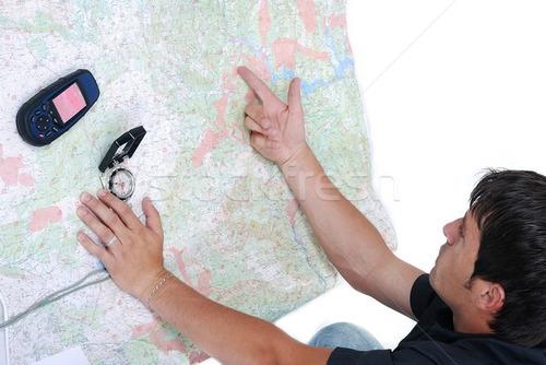 mapa, bússola, gps e geoplanejamento