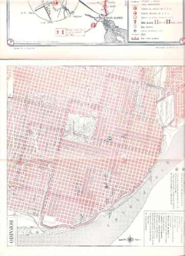 mapa. carta turistica nº 24.