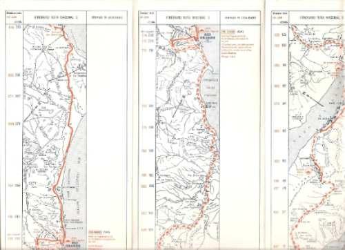 mapa. carta turistica nº 9. aca. automovil club argentino