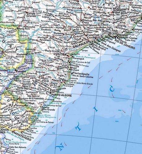 mapa da américa moderno hd  casa viagens não é raspadinha
