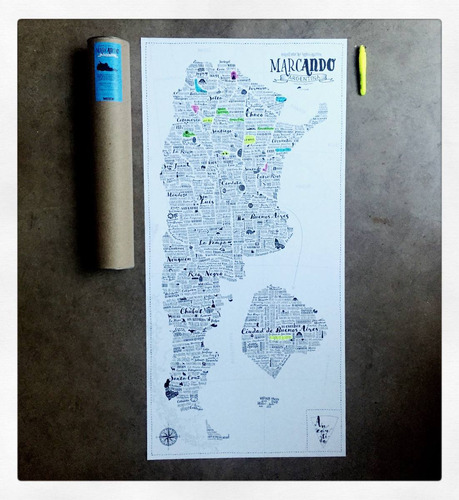 mapa de argentina para intervenir