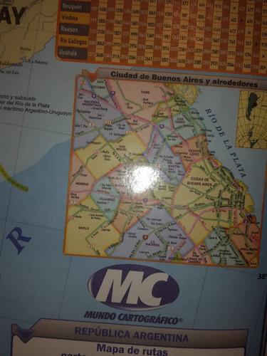 mapa de argentina - rutas