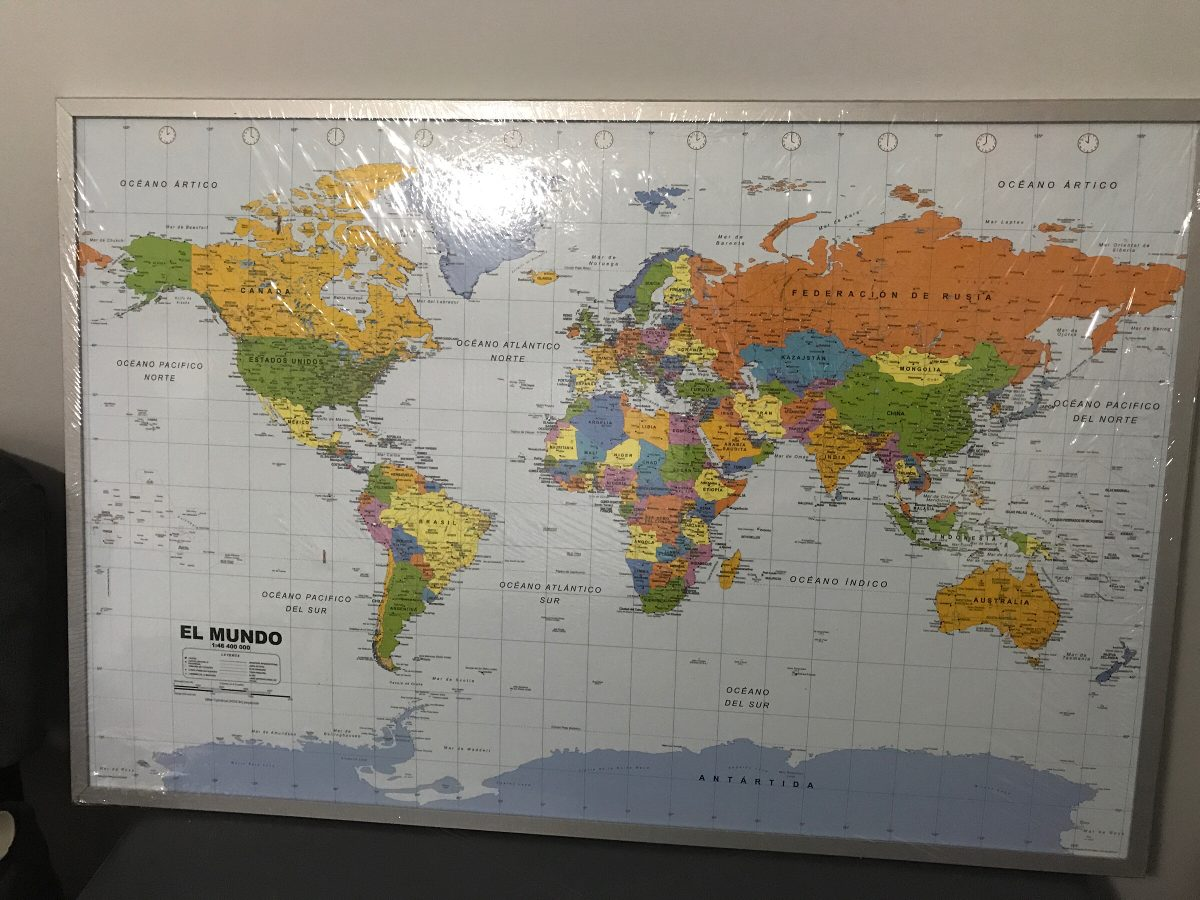 Dorable Mundo Marco Del Mapa De Imagen Regalo - Ideas de Arte ...