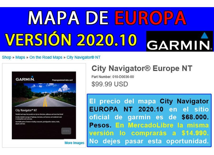 Italia e Grecia 010-10691-05 SD card GARMIN City Navigator Europe NT micro SD
