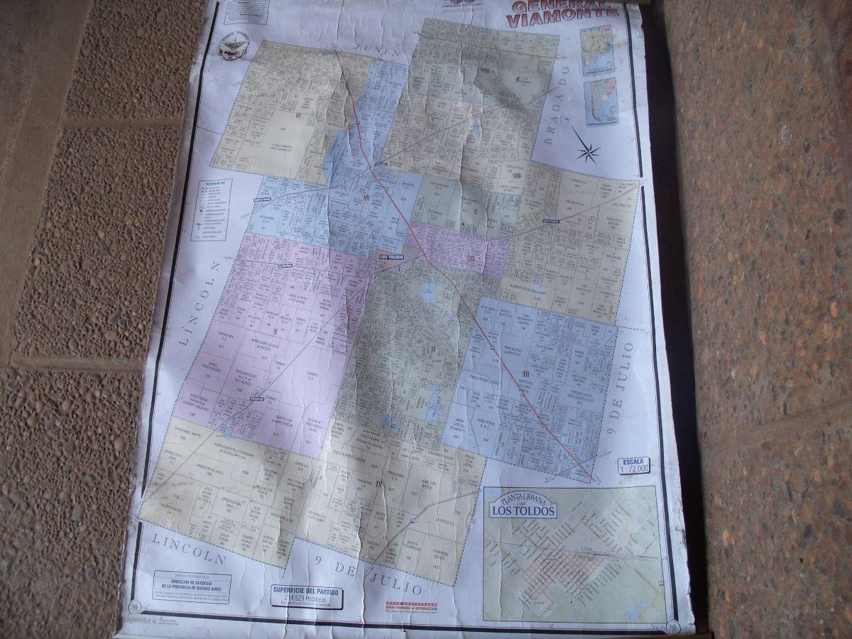 mapa de los toldos