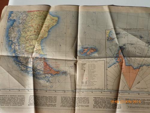 mapa de la prensa republica argentina 1957