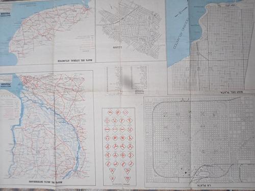 mapa de la provincia de buenos aires - multiguia peuser