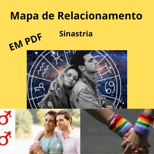 mapa de relacionamento - sinastria - astrologia