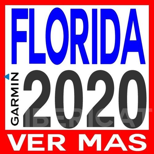 mapa del estado florida usa garmin 2020 + poi
