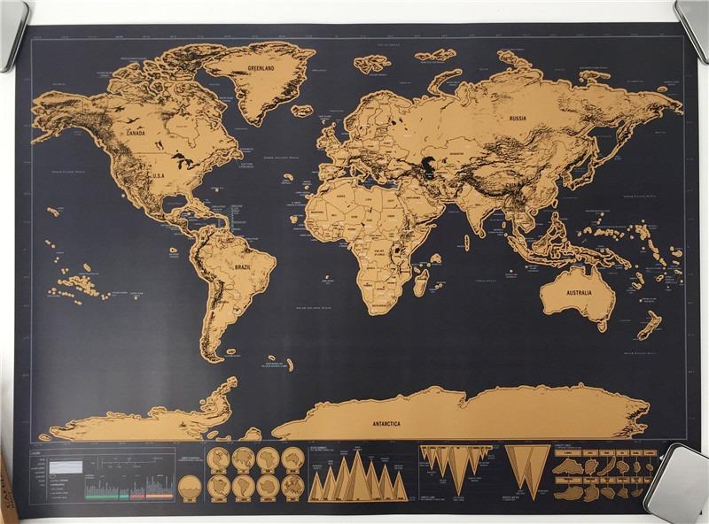 mapa para marcar sitios visitados Mapa Del Mundo Para Marcar Paises Y Viajes Realizados   $ 44.900  mapa para marcar sitios visitados