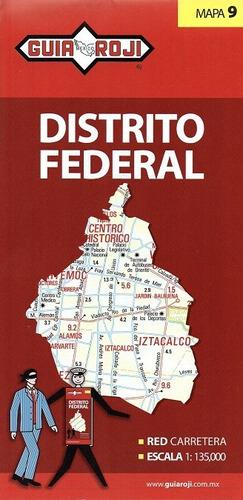 mapa   distrito federal guia roji