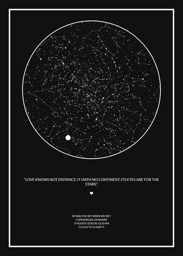 mapa do céu / skymap
