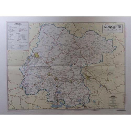 mapa   estado de guanajuato guia roji