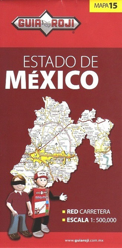 mapa  estado de mexico guia roji