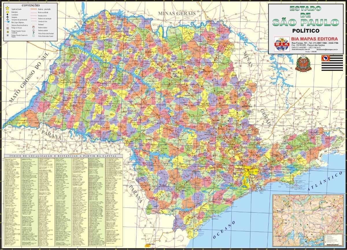 Lista: Municípios do estado de São Paulo por população