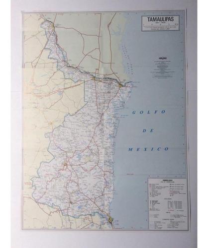 mapa   estado de tamaulipas guia roji