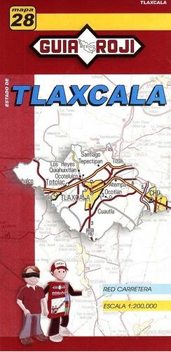 mapa   estado de tlaxcala guia roji