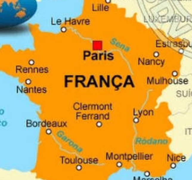 mapa da frança Mapa França 2018 Gps Garmin   R$ 125,00 em Mercado Livre mapa da frança