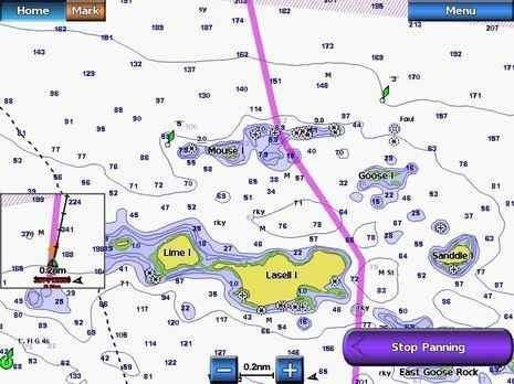 mapa garmin bluechart g2 pacifico california. tienda oficial